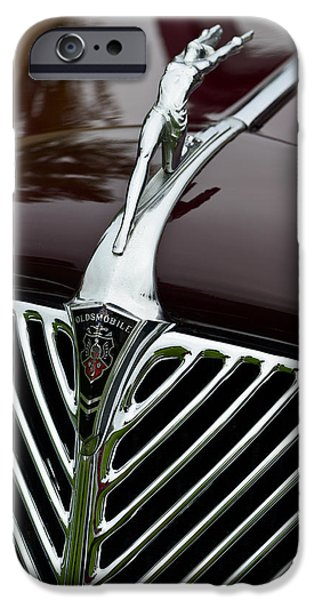 Old Cars iPhone Cases - Putting Your Best Leg Forward iPhone Case by Bob VonDrachek