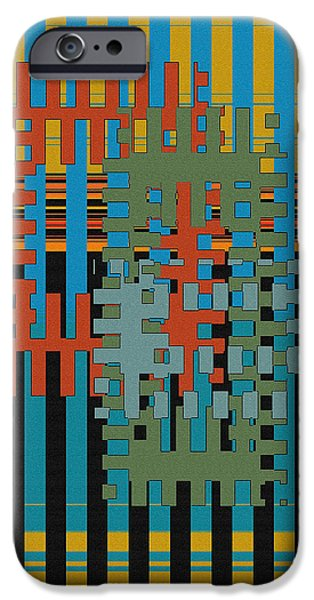 Puzzled iPhone Case by Ben and Raisa Gertsberg