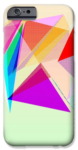 Abstract Digital Drawings iPhone Cases - Puzzling iPhone Case by TheseRmyDesigns