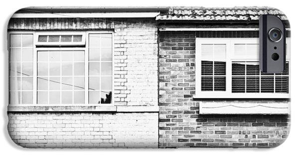 Venetian Doors iPhone Cases - PVC windows iPhone Case by Tom Gowanlock