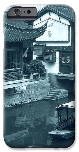 Qibao Ancient Town - A peek into the past of Shanghai iPhone Case by Christine Till