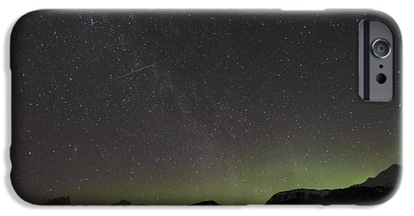 Stellar iPhone Cases - Quadrantid Meteor Shower, Milky Way iPhone Case by Yuichi Takasaka