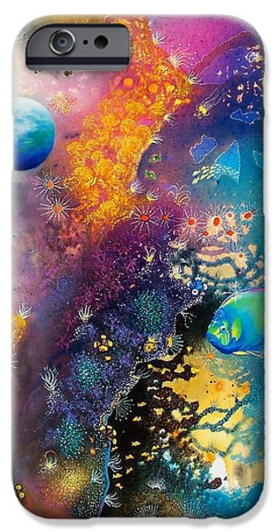 Angel Mermaids Ocean iPhone Cases - Queen of the Reef iPhone Case by Lee Pantas