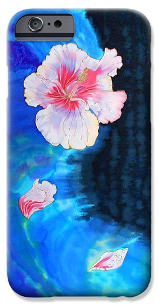 Rain Tapestries - Textiles iPhone Cases - Quench My Thirst iPhone Case by Beth Surdut