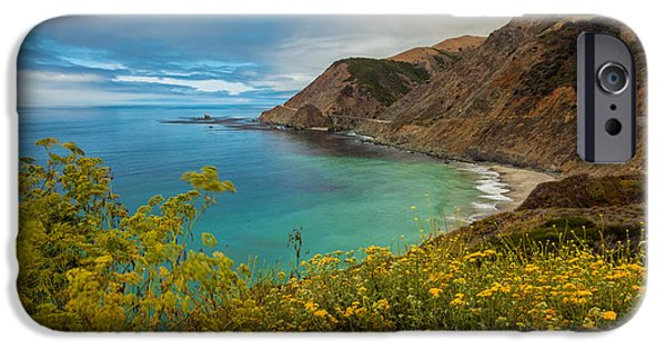 Red Rock iPhone Cases - Quietly Sea iPhone Case by Jonathan Nguyen