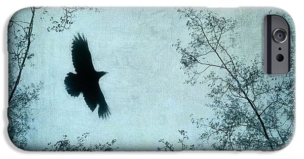 Flight iPhone Cases - Spread your wings iPhone Case by Priska Wettstein