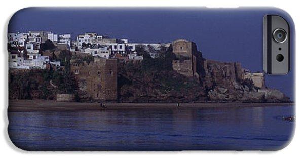 Rabat Photographs iPhone Cases - Rabat Kasbah Des Oudaias Bouregreg River Morocco iPhone Case by Antonio Martinho