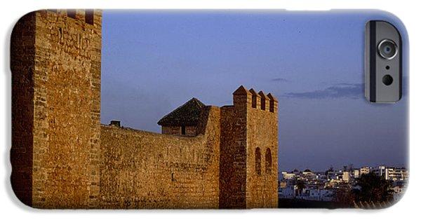 Rabat Photographs iPhone Cases - Rabat Kasbah Des Oudaias Morocco iPhone Case by Antonio Martinho