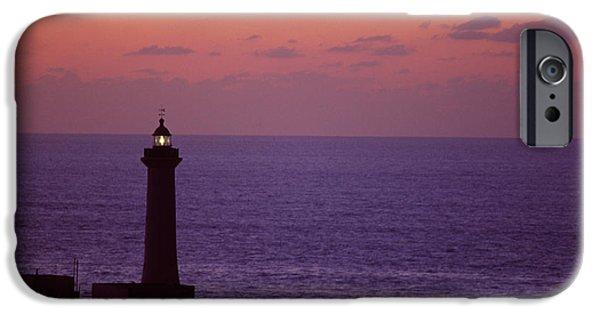 Rabat Photographs iPhone Cases - Rabat Morocco Lighthouse iPhone Case by Antonio Martinho