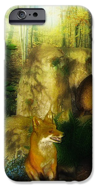 Rabbit Season iPhone Case by Bill Cannon