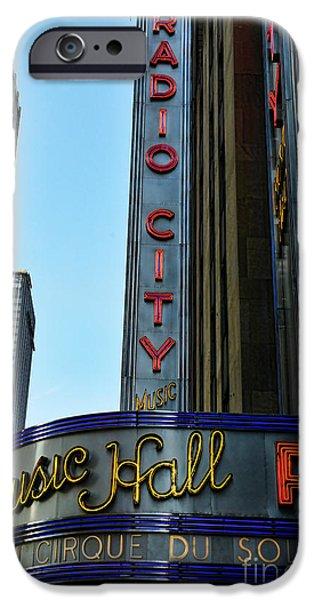 Radio City Music Hall iPhone Case by Paul Ward