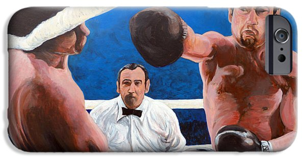 Rage iPhone Cases - Raging Bull iPhone Case by Tom Roderick