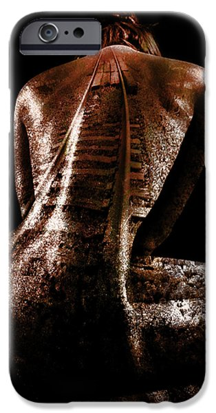Altered iPhone Cases - Railway Skin iPhone Case by Marian Voicu