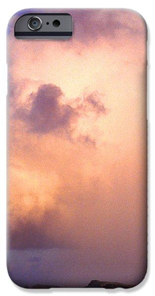 Rain Cloud and Rainbow iPhone Case by Thomas R Fletcher