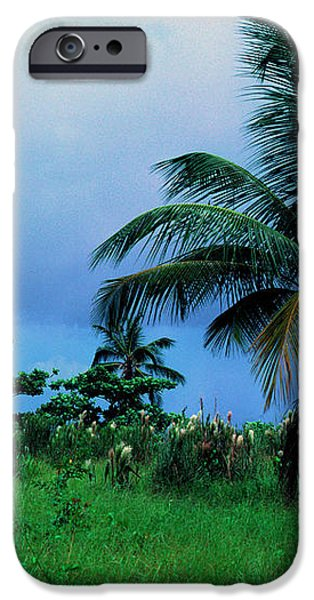 Rain Cloudsover Dominica iPhone Case by Thomas R Fletcher
