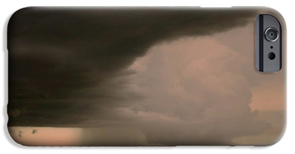 Cities Tapestries - Textiles iPhone Cases - Rain Layers iPhone Case by James Hennis