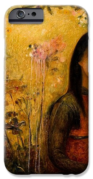 Raining Garden iPhone Case by Shijun Munns