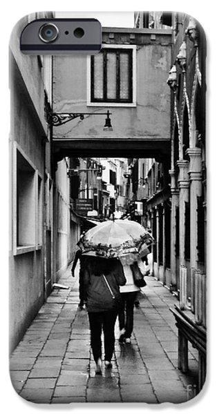 Rainy Day iPhone Cases - Rainy Day iPhone Case by Scenic Sights By Tara