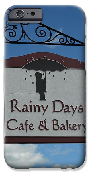 Rainy Day iPhone Cases - Rainy Days iPhone Case by Richard Jenkins