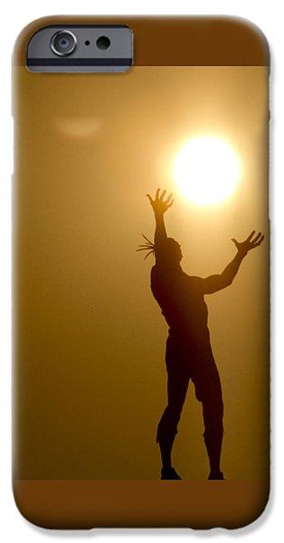 Buy iPhone Cases - Raising The Sun iPhone Case by David Yocum