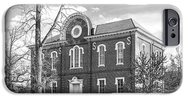 Franklin iPhone Cases - Randolph- Macon College Franklin Hall iPhone Case by University Icons