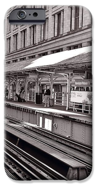 Randolph Street Station Chicago iPhone Case by Steve Gadomski