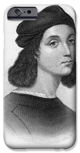 Painter Photographs iPhone Cases - Raphael (1483-1520) iPhone Case by Granger
