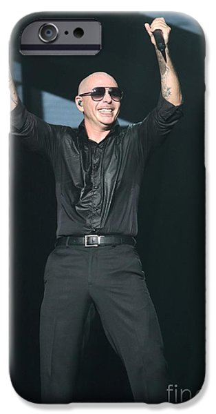 Pitbull Singer iPhone Cases - Rapper Pitbull iPhone Case by Front Row Photographs