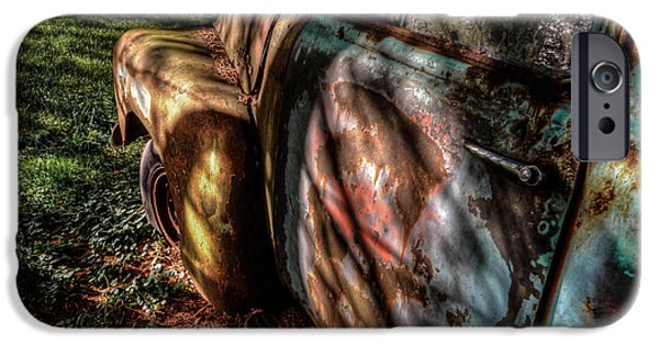 Rust iPhone Cases - Rat Rod Ready iPhone Case by Andrew Brill