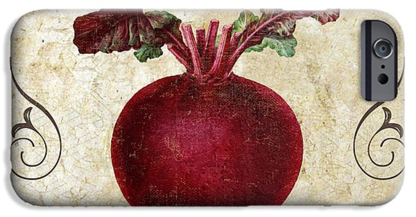 Organic Foods iPhone Cases - Ravanello Radish iPhone Case by Mindy Sommers