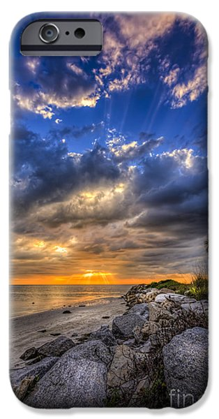 North Sea iPhone Cases - Raw Beauty iPhone Case by Marvin Spates