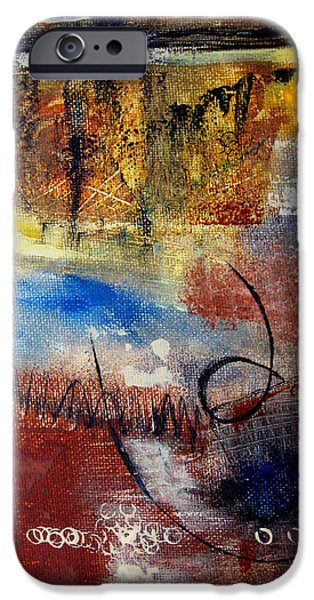 Irregular iPhone Cases - Raw Emotions iPhone Case by Ruth Palmer