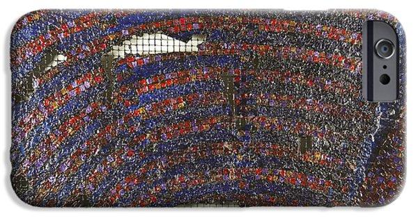 Arial View Paintings iPhone Cases - Rawditorium iPhone Case by Mark Howard Jones