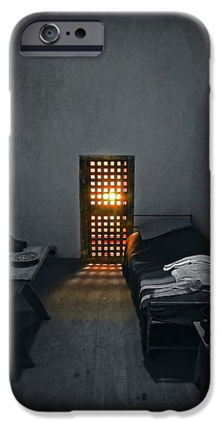 Furniture Photographs iPhone Cases - Rays of Freedom iPhone Case by Evelina Kremsdorf