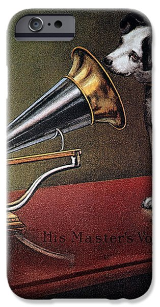 RCA VICTOR TRADEMARK iPhone Case by Granger