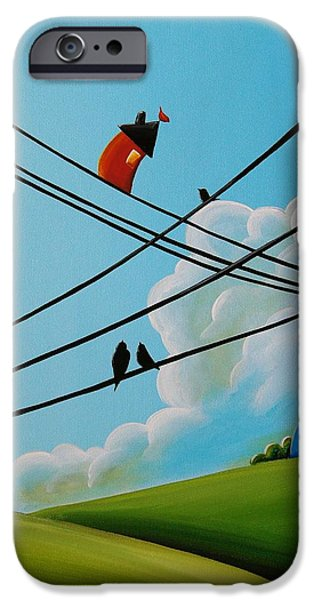 House iPhone Cases - Reaching New Heights iPhone Case by Cindy Thornton