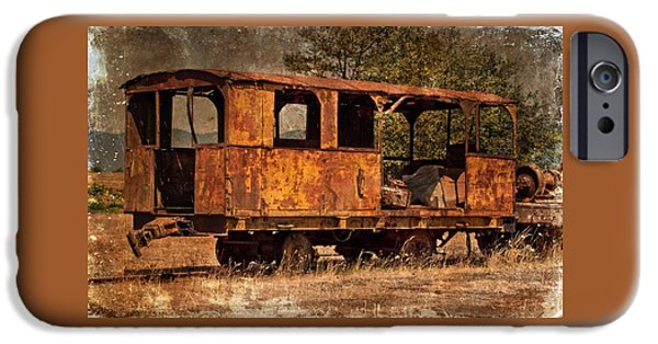 Old Cars iPhone Cases - Ready For An Excursion iPhone Case by Thom Zehrfeld