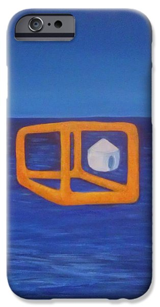 Etc. Paintings iPhone Cases - Ready to transport iPhone Case by Deyanira Harris