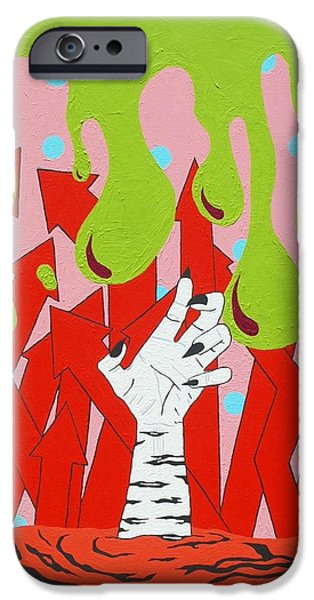 Creepy iPhone Cases - Rebirth iPhone Case by Jeremy Roark
