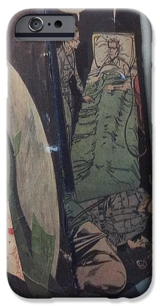 Disorder Mixed Media iPhone Cases - Recovery? iPhone Case by William Douglas
