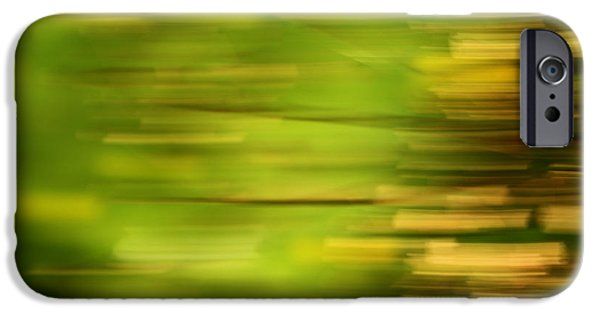Impressionist Photography iPhone Cases - Rectangulism - s01a iPhone Case by Variance Collections