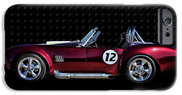 Automotive iPhone Cases - Red Cobra iPhone Case by Douglas Pittman