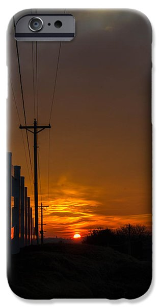 Epic iPhone Cases - Red Dawn iPhone Case by Bill Thornhill