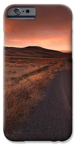 Red Dawn iPhone Case by Mike  Dawson
