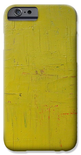Red Green Yellow iPhone Case by Michelle Calkins