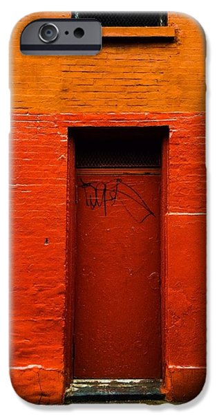 Recently Sold -  - East Village iPhone Cases - Red House iPhone Case by Mike Rose