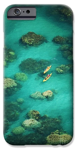 Red Outrigger Canoe iPhone Case by Ron Dahlquist - Printscapes