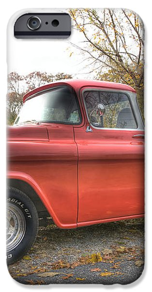 Red Pick-up iPhone Case by Steve Gravano