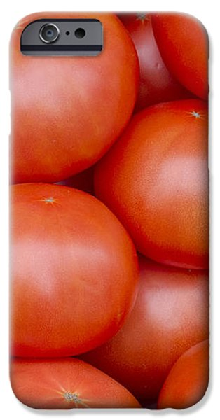 Red Ripe Tomatoes iPhone Case by John Trax