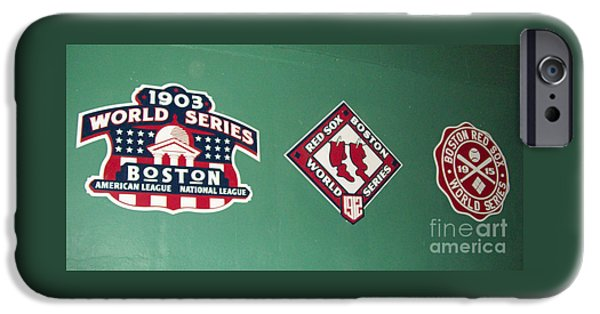 Fenway Park iPhone Cases - Historic Red Sox iPhone Case by Gina Sullivan